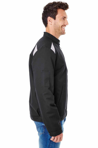 Dickies LJ605 Black Performance Blend Team Jacket Side