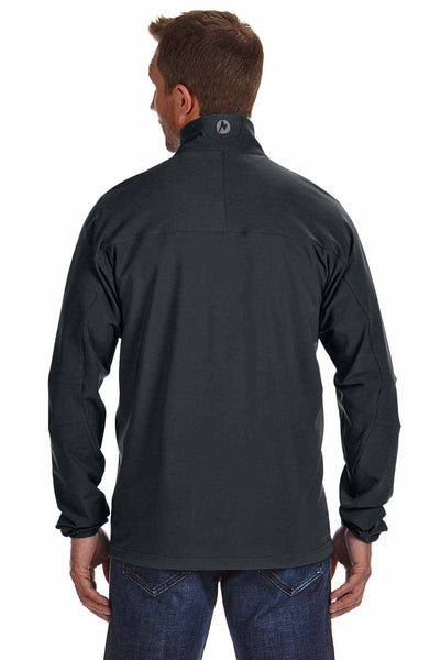 Marmot 98260 Black Tempo Polyester Blend Jacket Back