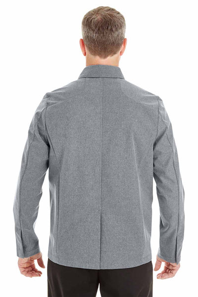 North End NE705 Grey Edge Polyester Soft Shell Jacket Back