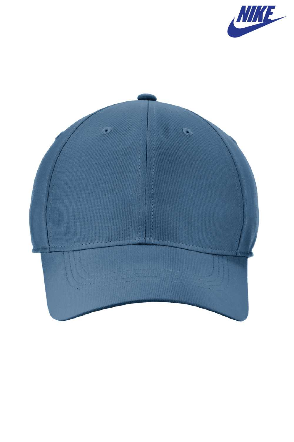 d36bb8181a0 ... usa nike nkaa1859 navy blue white dri fit tech adjustable hat front  7105c 7e8fb