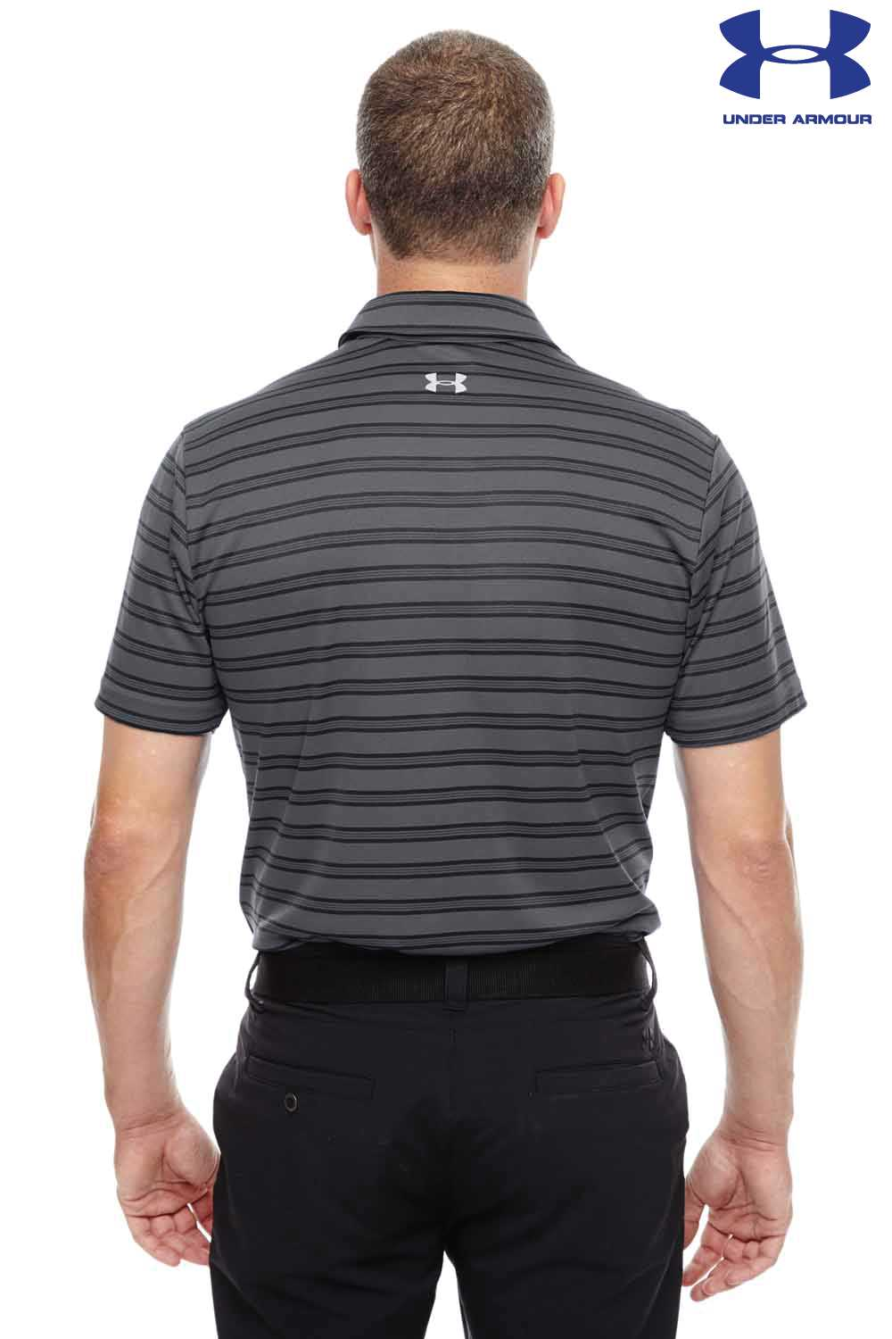 4c852569 Mens Under Armour Pink Polo Shirt