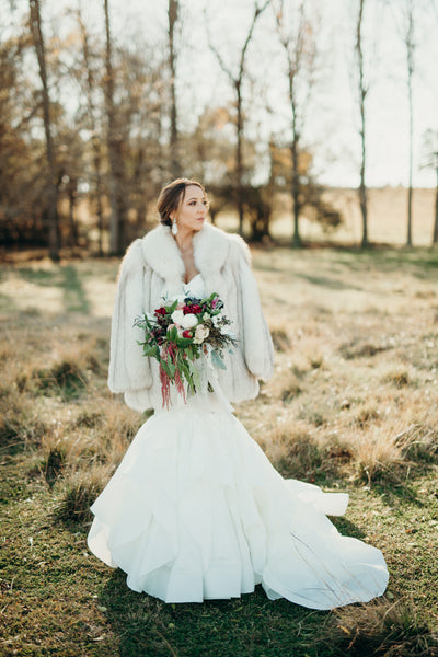 Winter Wedding on The Farm