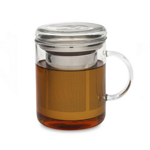 Glass Tea Mug Infuser
