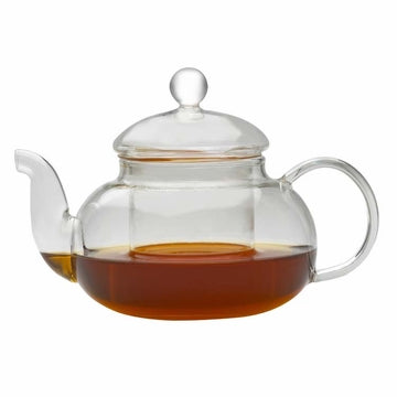 Glass Filtering Teapot