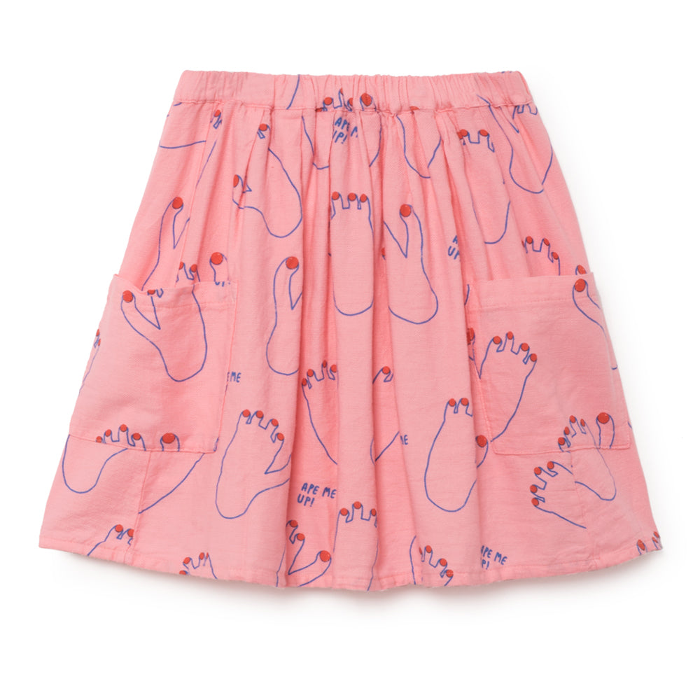 bobo choses footprint pockets skirt
