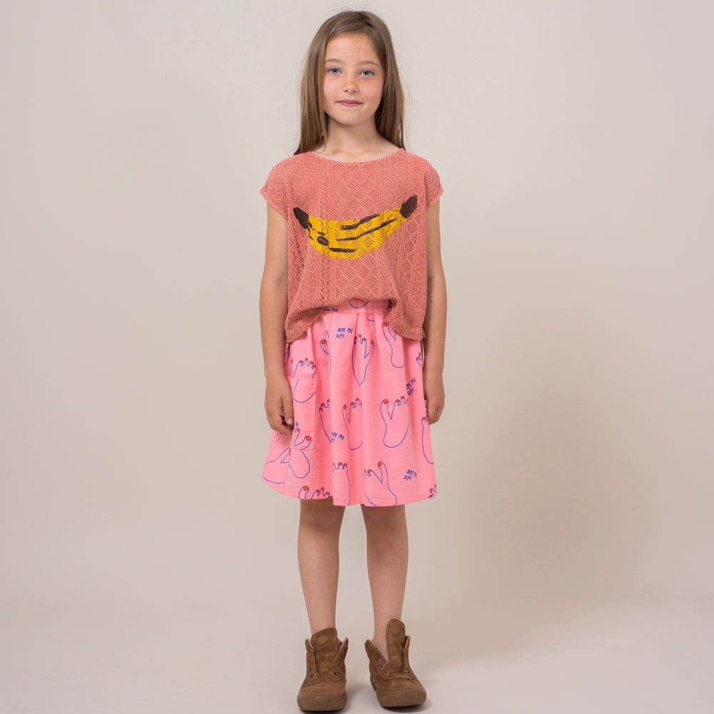 bobo choses banana knitted shirt