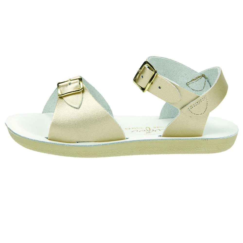 salt water sandals sun san surfer gold