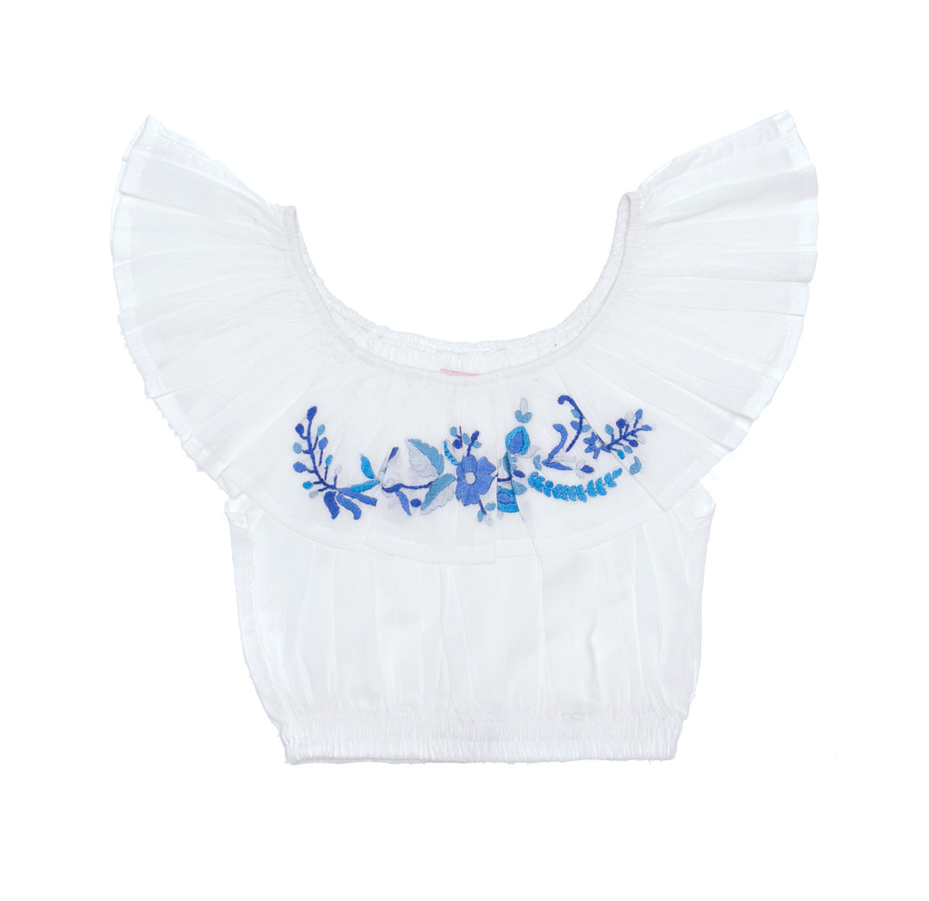 Coco & Ginger june crop gardenia with embroidery