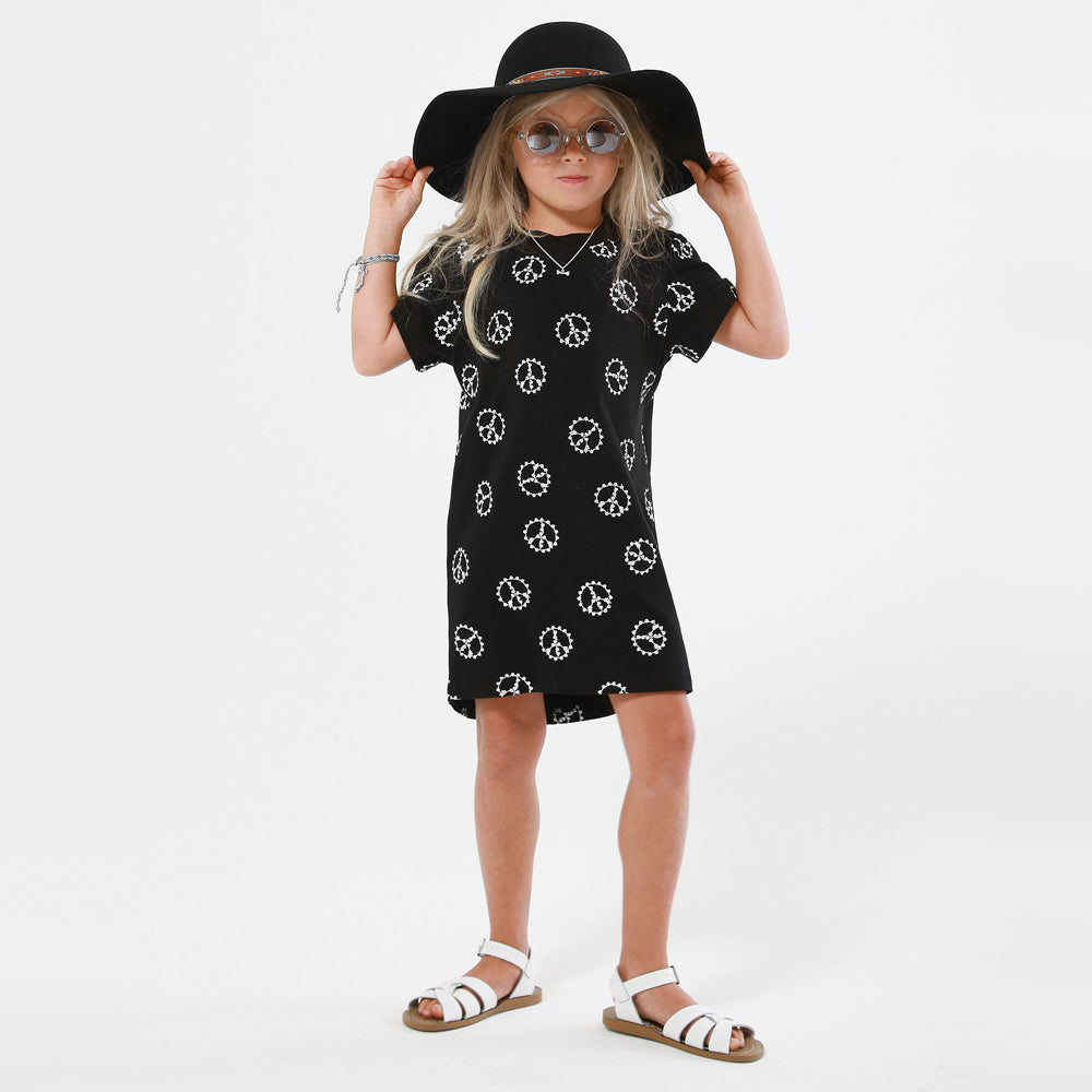 pop factory peace hands dress