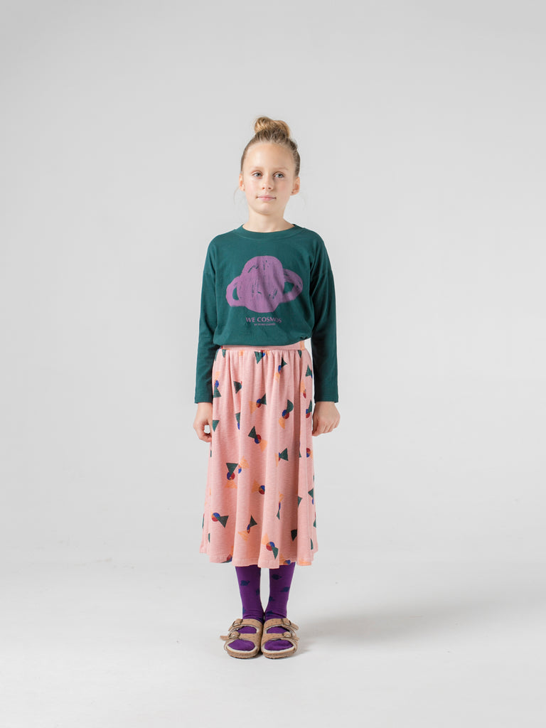 bobo choses all over flags midi skirt
