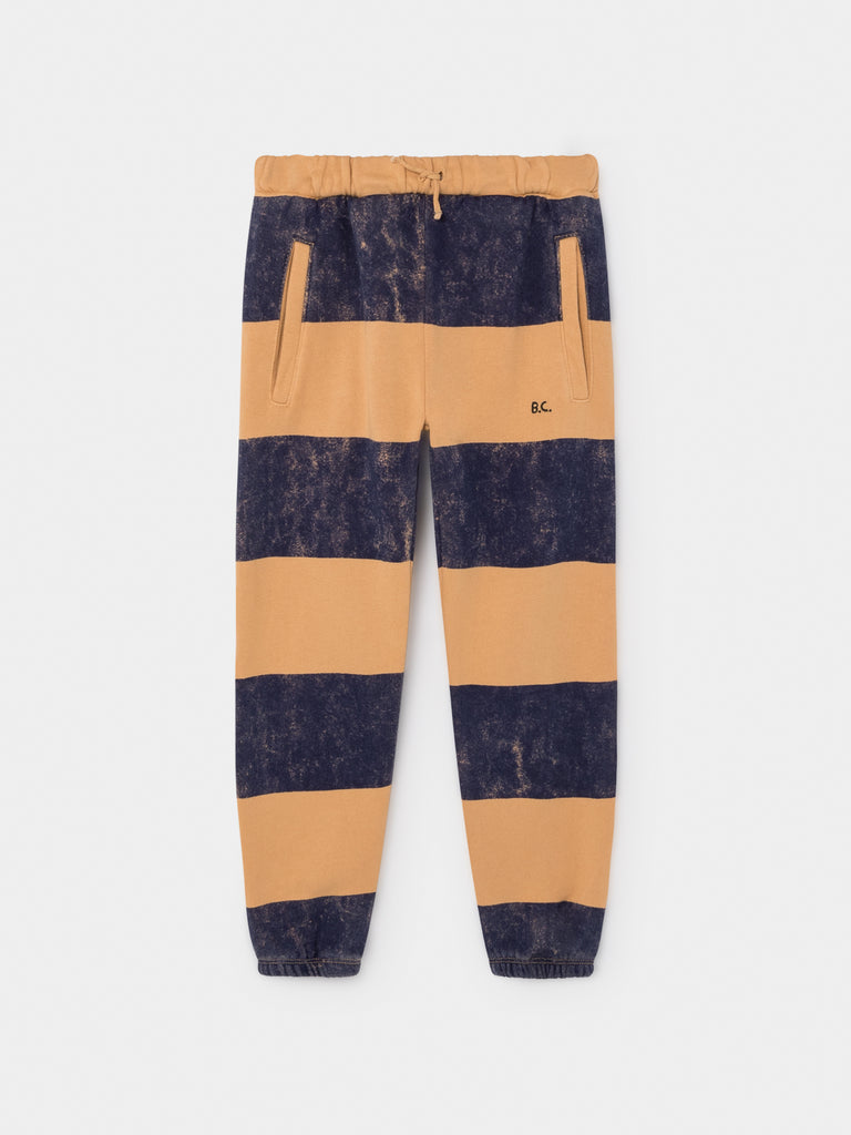 bobo choses striped jogging pants