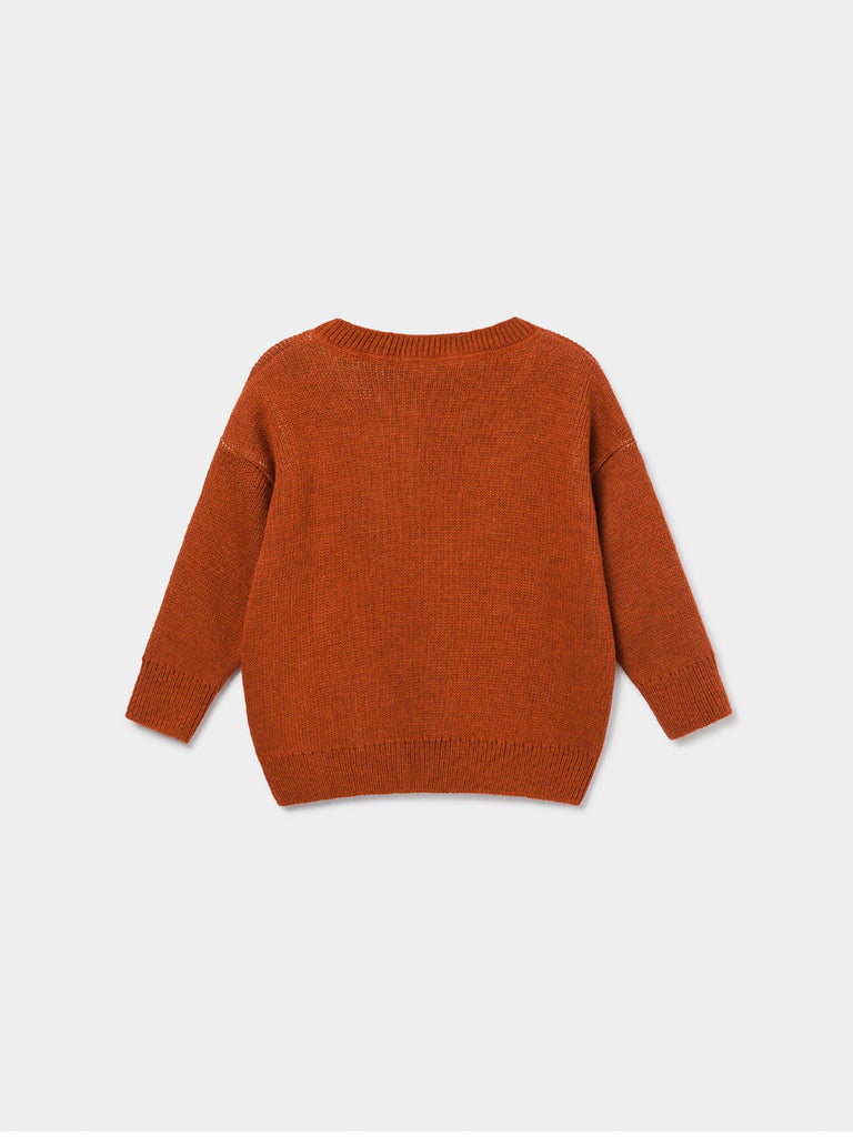 bobo choses bobo jacquard jumper