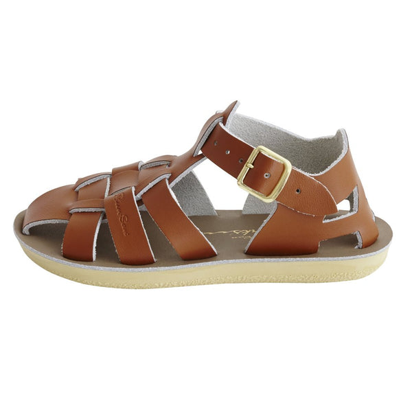 salt water sandals sun san shark tan