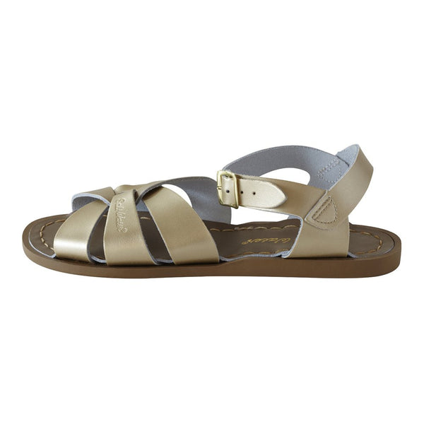 salt water sandals children's gold