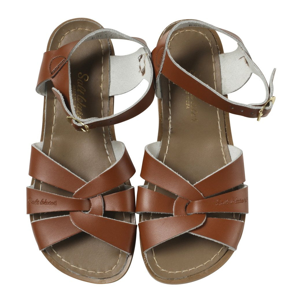 salt water sandals women's tan
