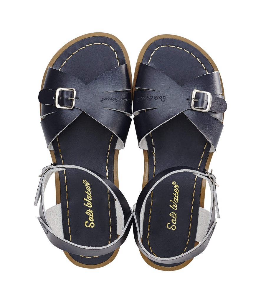 salt water sandals classic children's navy