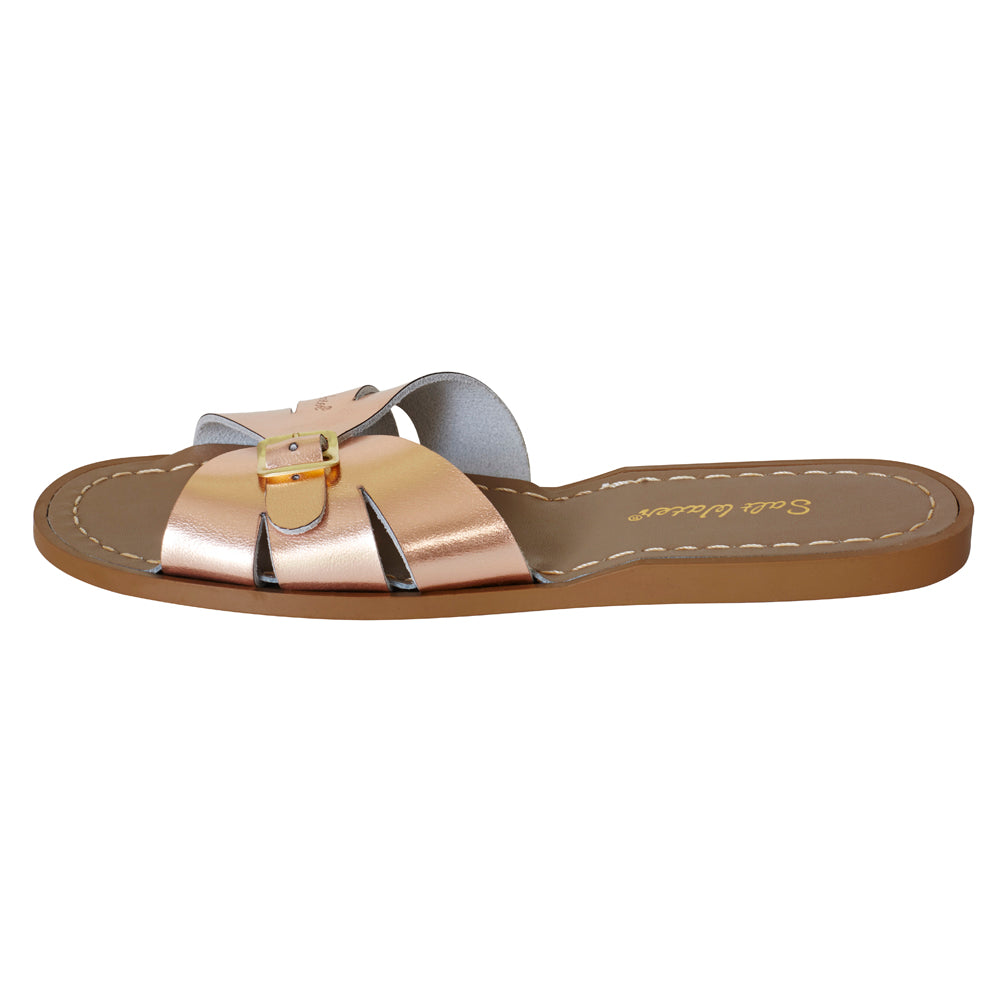 salt water sandals women's slides