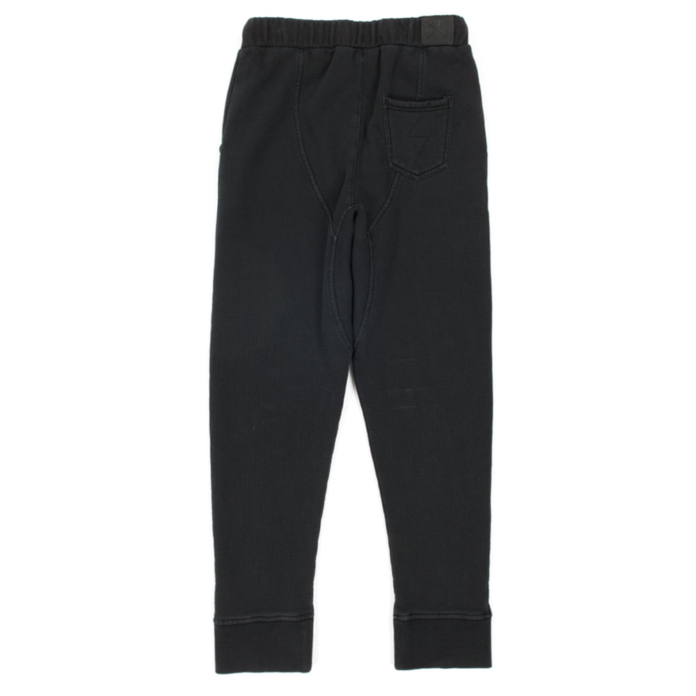 alphabet soup everyday trackpants washed black