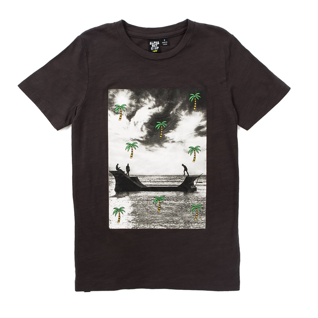 alphabet soup palm beach tee