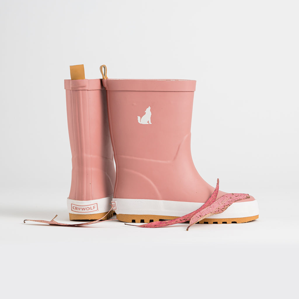 Crywolf Rain Boots - Dusty Rose - New Season