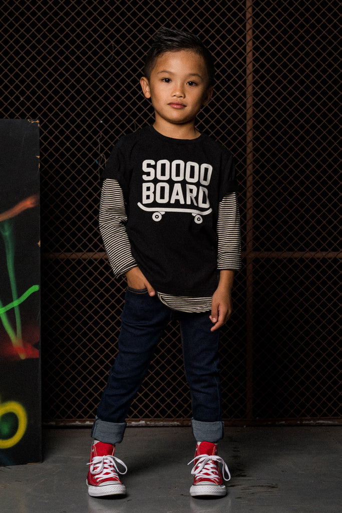 rock your kid l/s tee boys sooo board