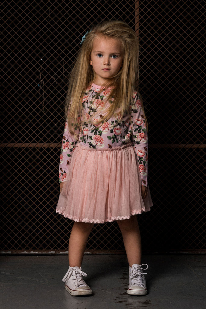 rock your kid shabby chic l/s circus dress