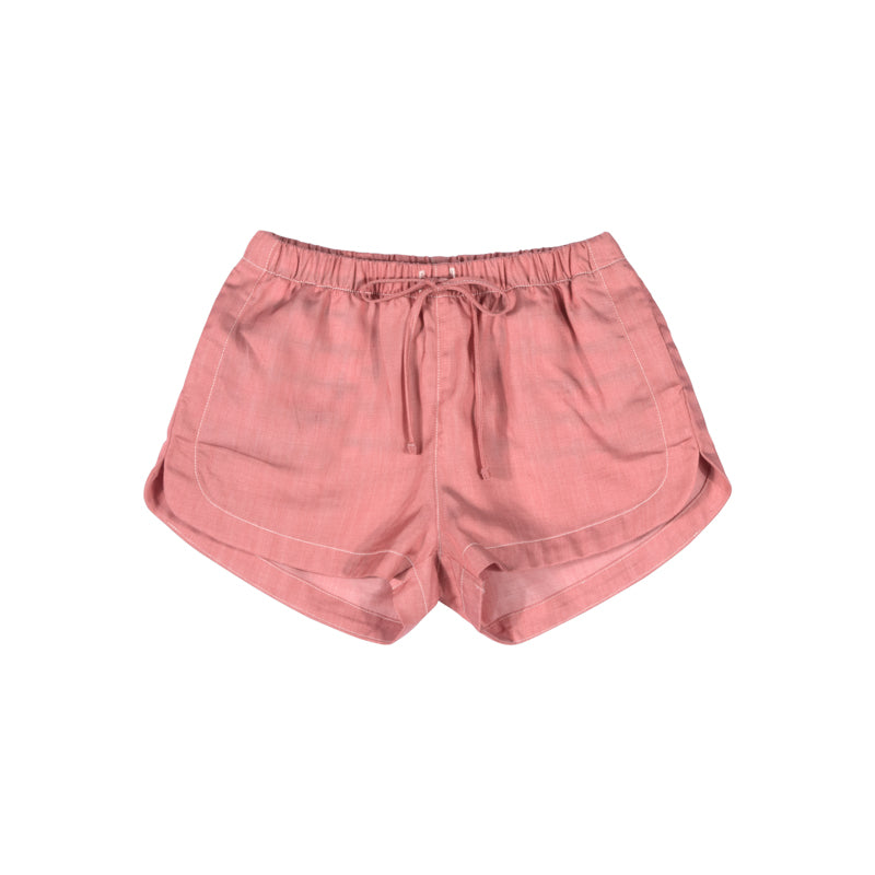 paper wings chambray shorts - pink
