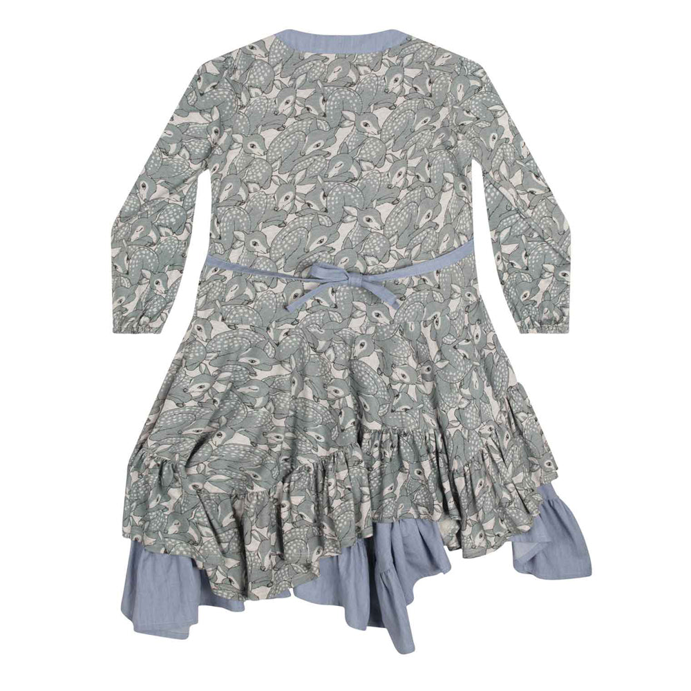 paper wings fawns frilled dress