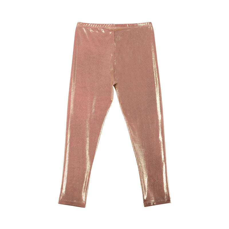Paper wings jeggings - metallic