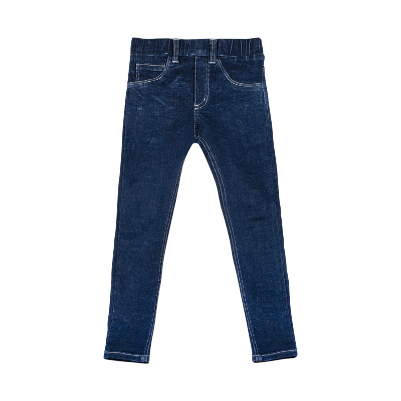 Paper wings jeggings - indigo