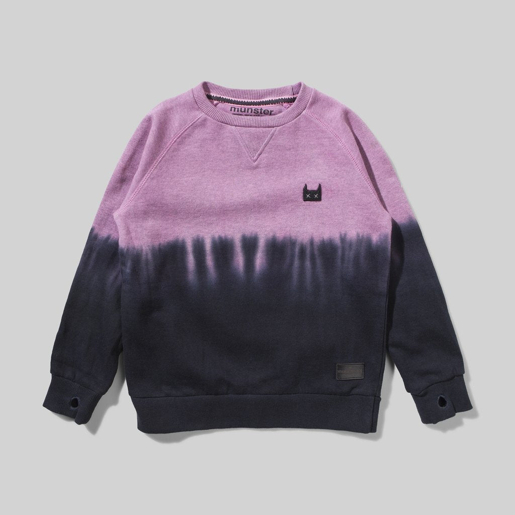 Munster Kids - Downside Crew - Black Magenta