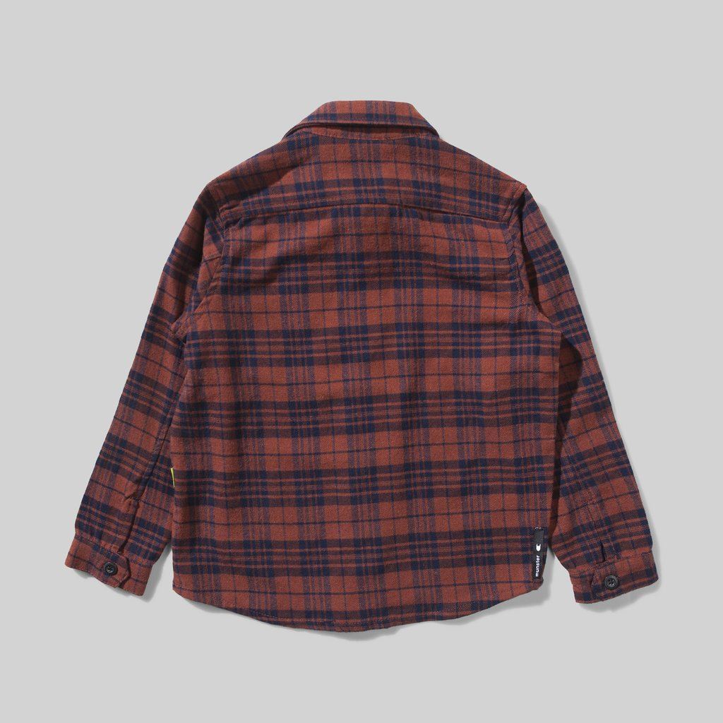 Munster Kids - Niseiko Shirt - Rust