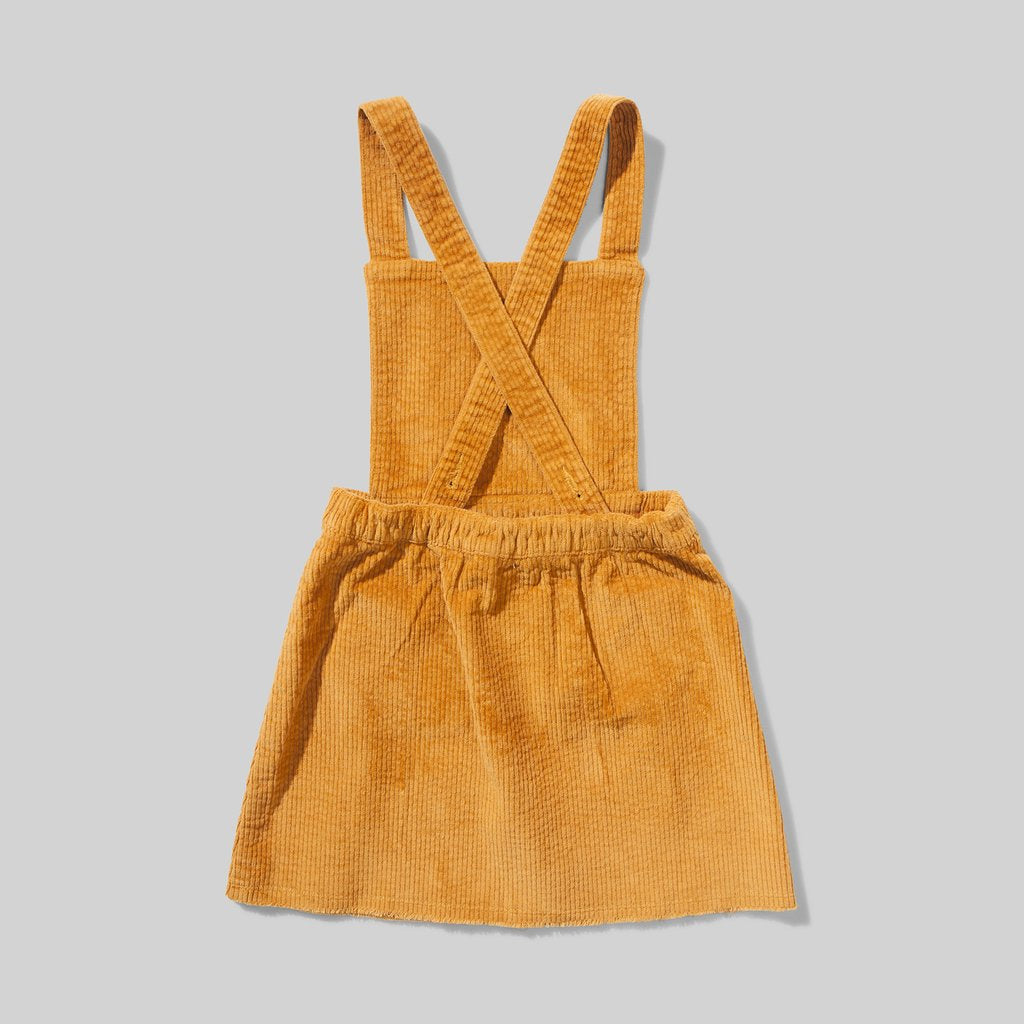 Missie Munster - Charlotte Dress - Mustard