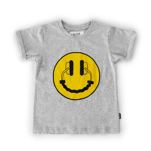 pop factory happy headphones tee