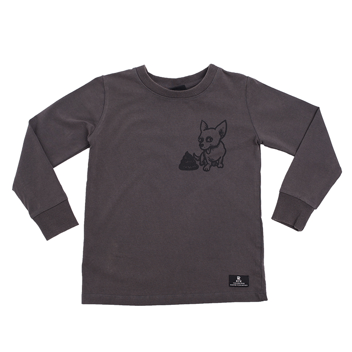 rock your kid l/s tee boys bad dog