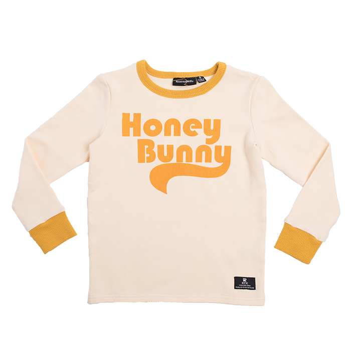 rock your kid l/s tee honey bunny