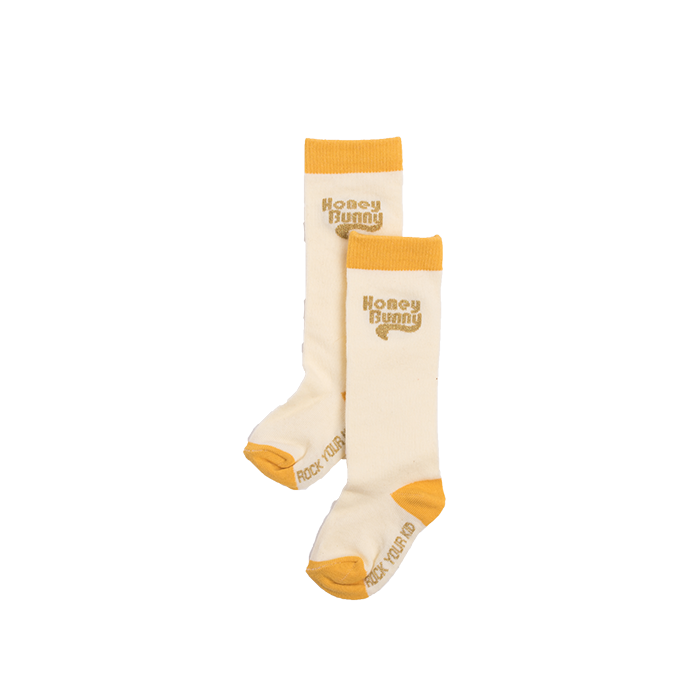 rock your kid honey bunny knee high socks