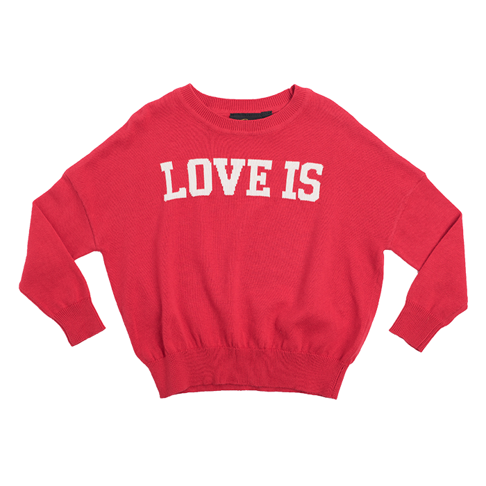 rock your kid love is knot pullover