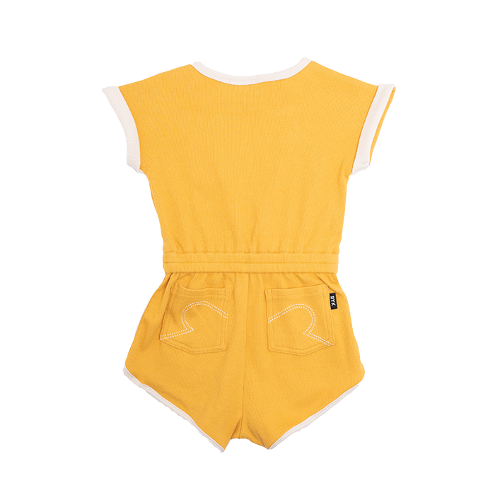 rock your baby - marigold tiger romper