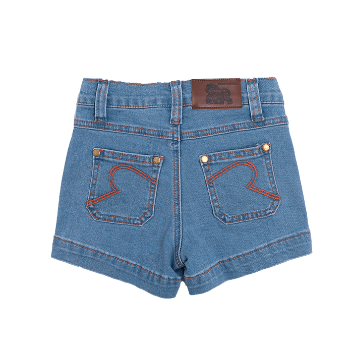 rock your baby pony rambler - denim shorts