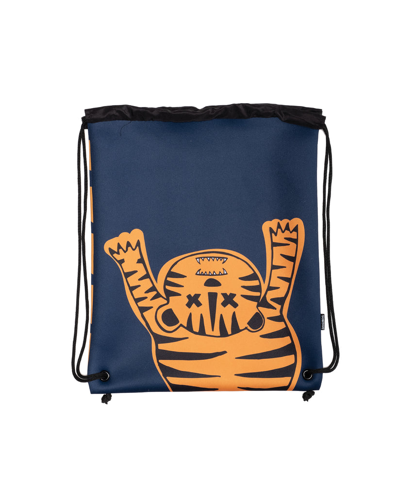band of boys orange tiger swim bag