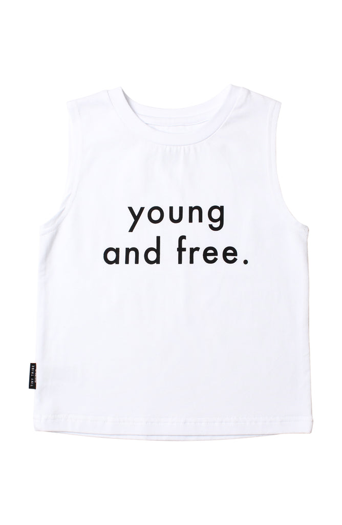 TINY TRIBE YOUNG & FREE TANK