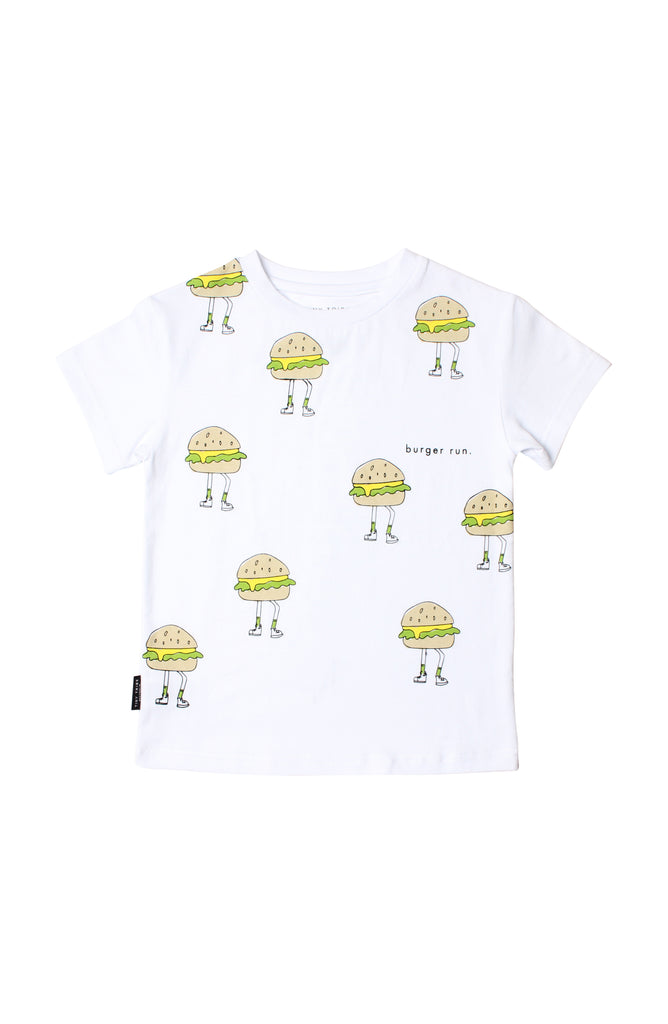 TINY TRIBE BURGER RUN TEE