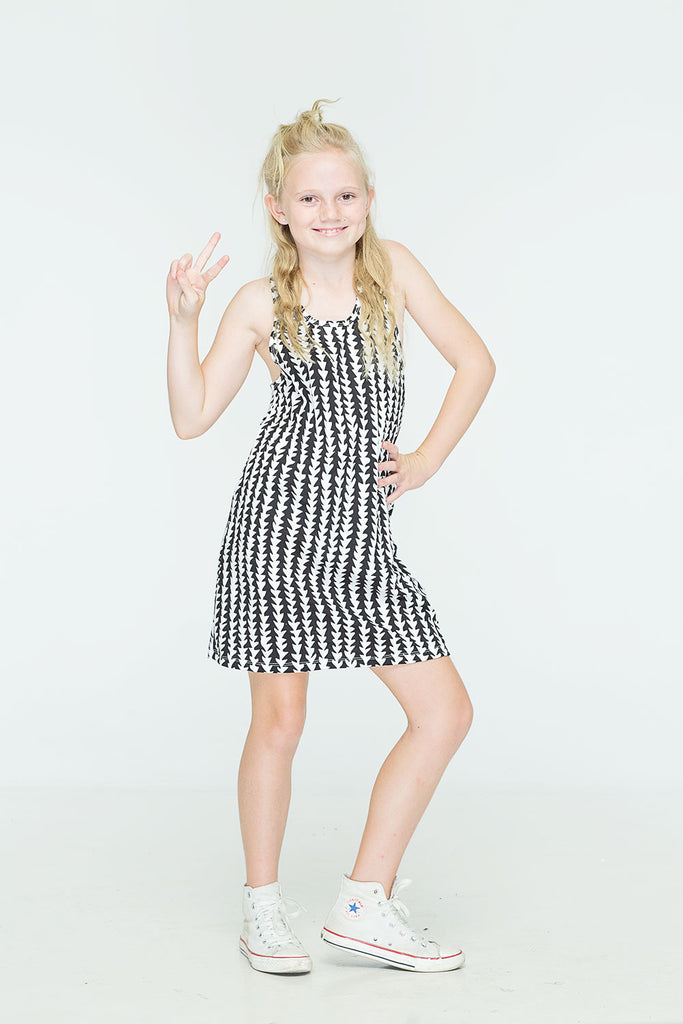 ZUTTION KIDS TRIBE SINGLET DRESS