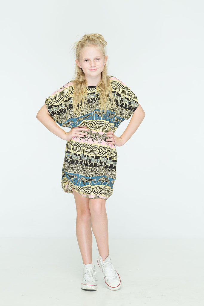 ZUTTION KIDS AFRICA YARRA DRESS