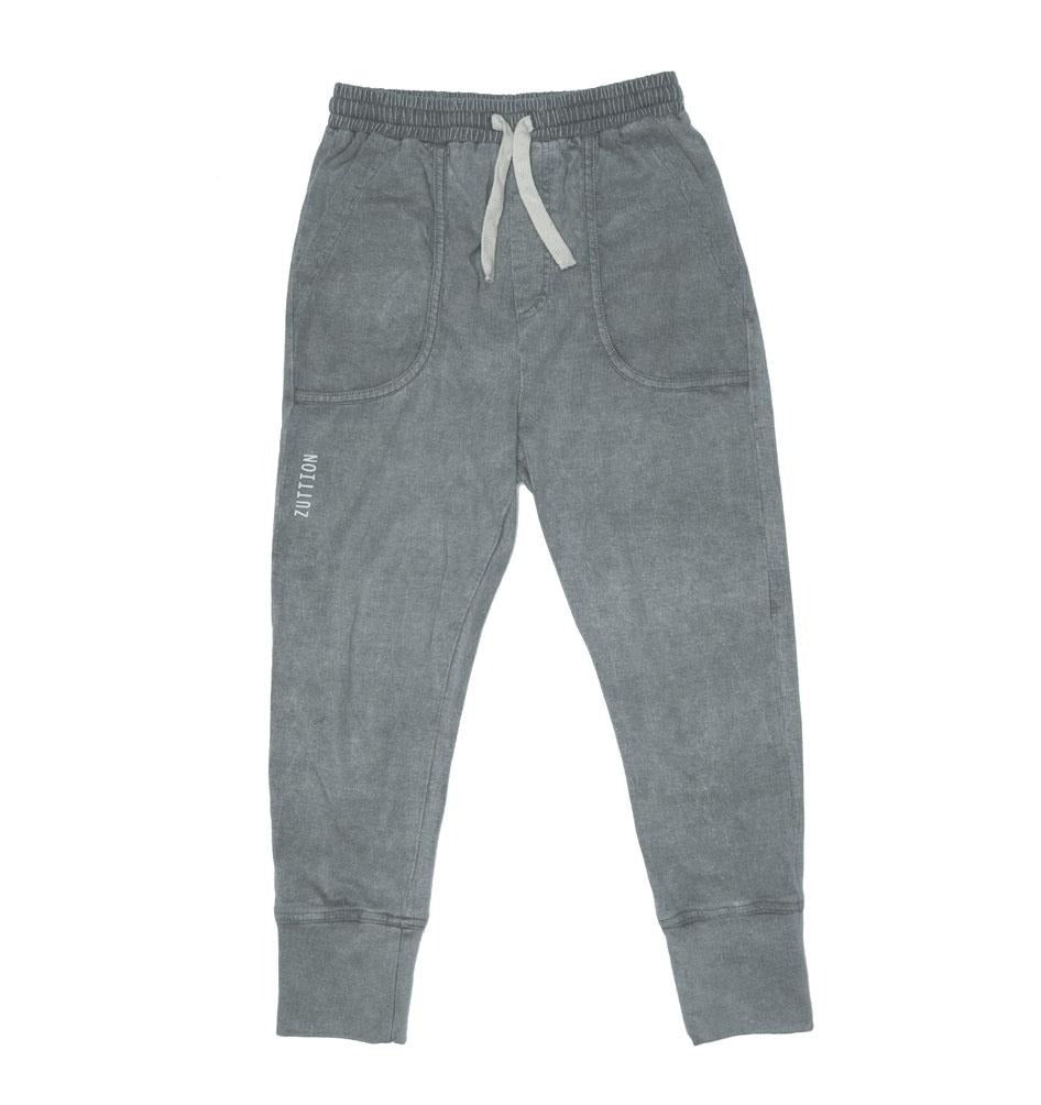 ZUTTION KIDS TRACKIE PANTS - GREY