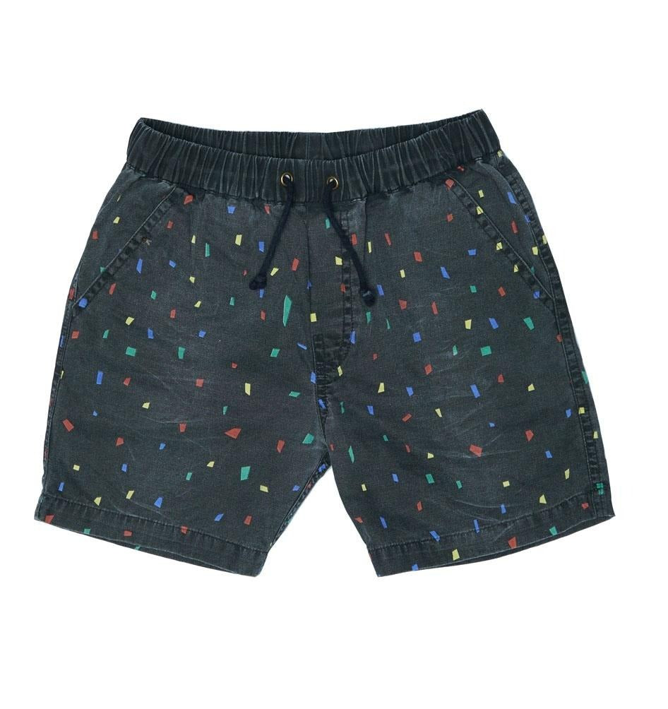 ZUTTION KIDS WALK SHORTS - SHAPES
