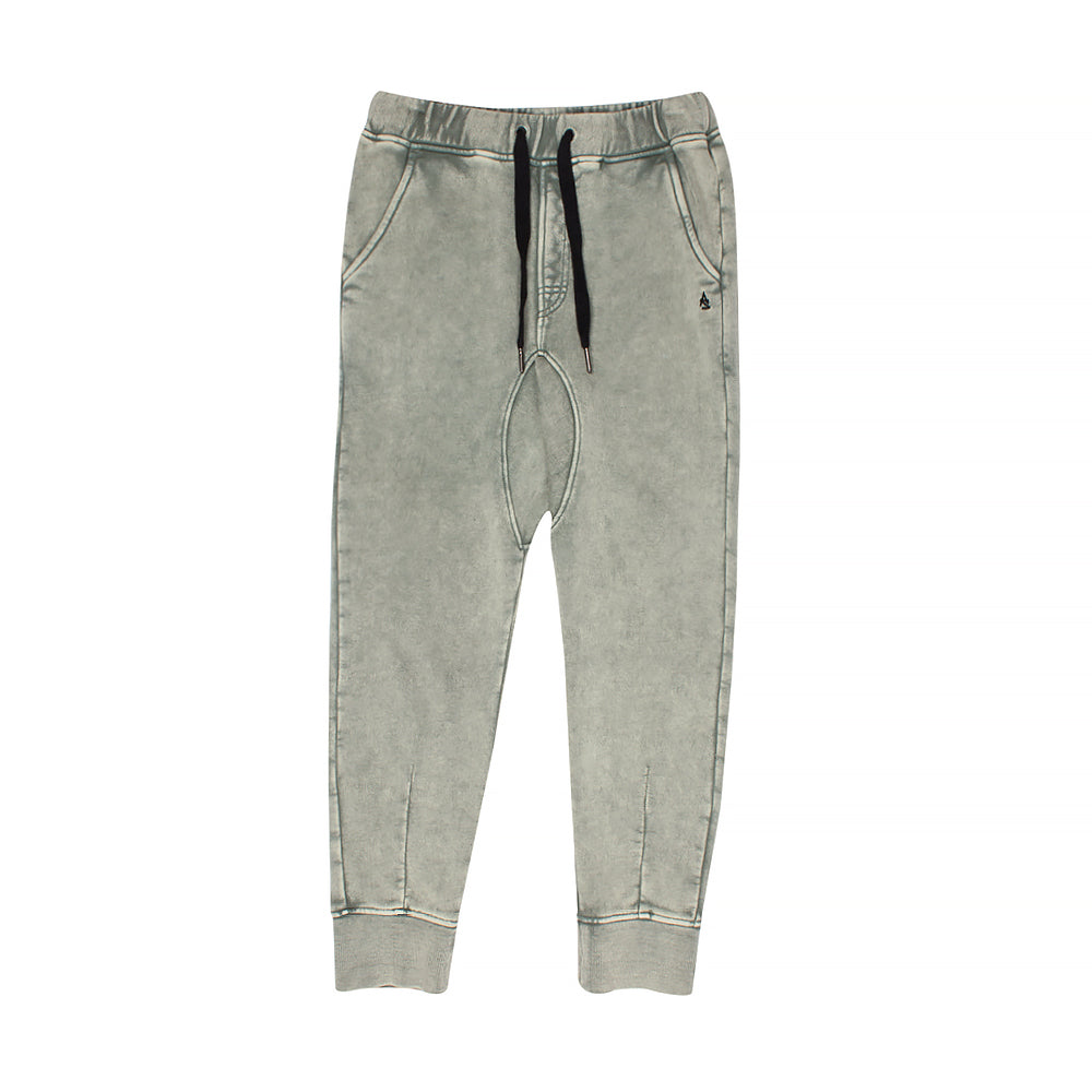 Alphabet soup lounge trackpant - seaspray