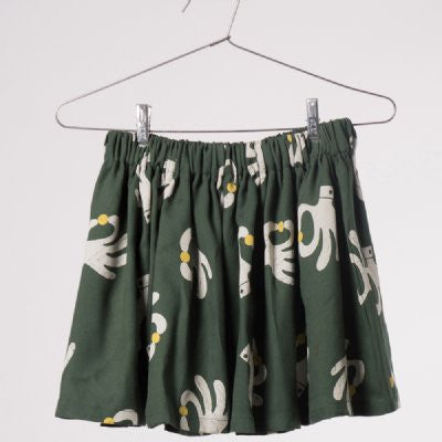 BOBO choses hand trick flared skirt