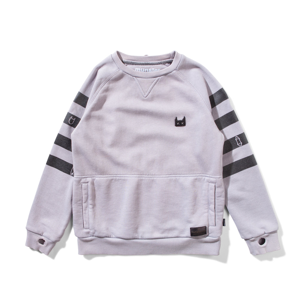 Munster kids Banded Fleece Jumper